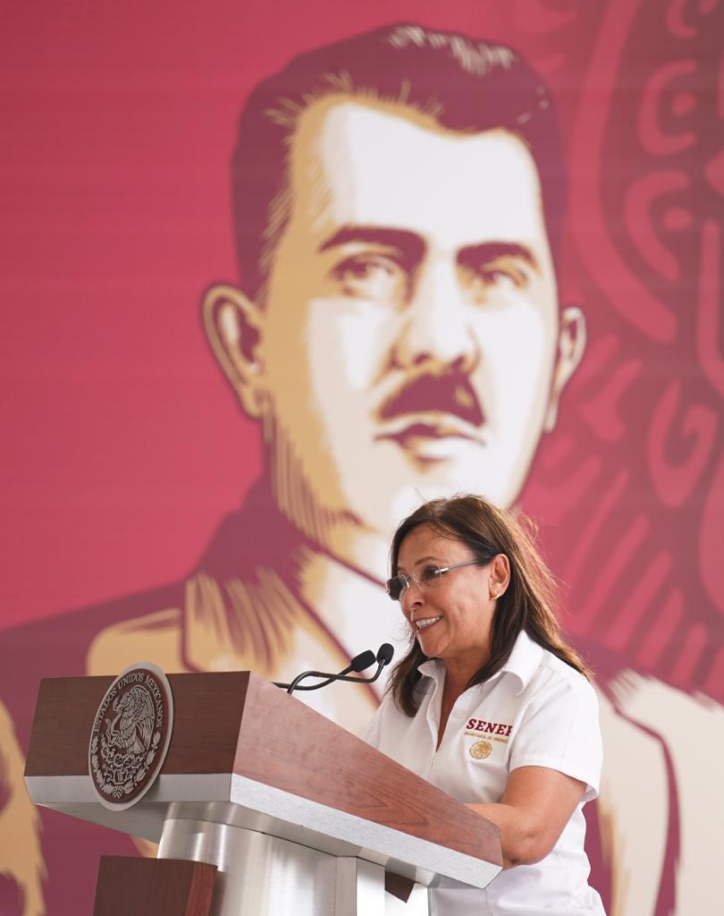"""Iniciaron los trabajos de construcción de la refinería de Dos Bocas; """"día histórico"""": Rocío Nahle"""