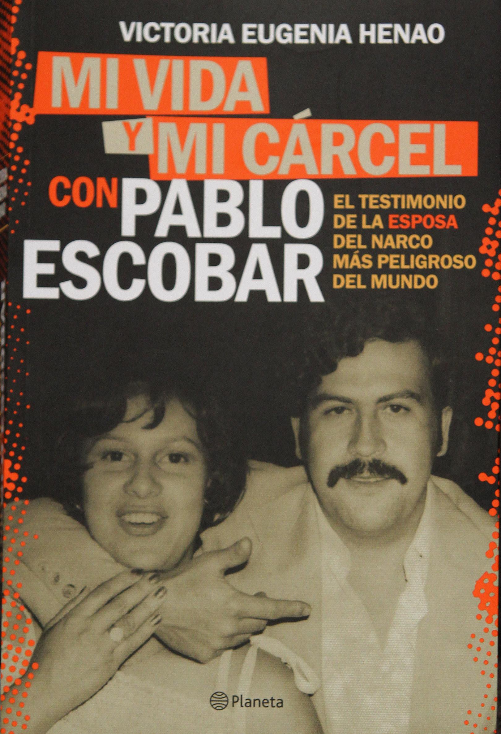 Viuda de Pablo Escobar presenta libro «Mi vida y mi cárcel, con Pablo Escobar»