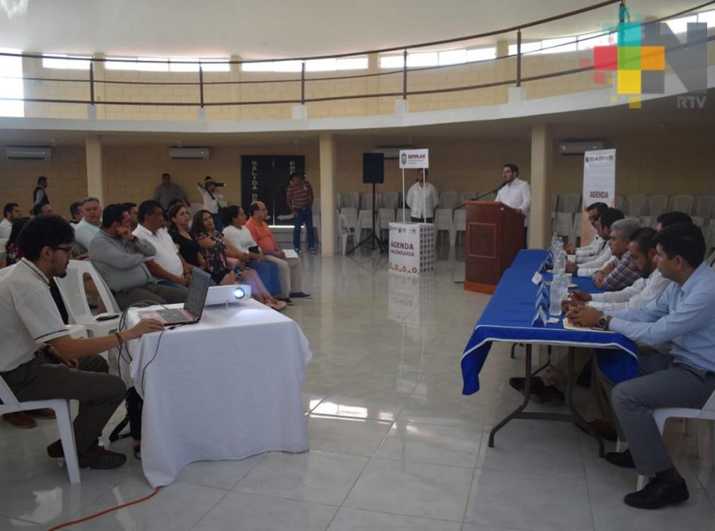 Alcaldes de la zona norte consideran atinada la reunión con titular de Sefiplan
