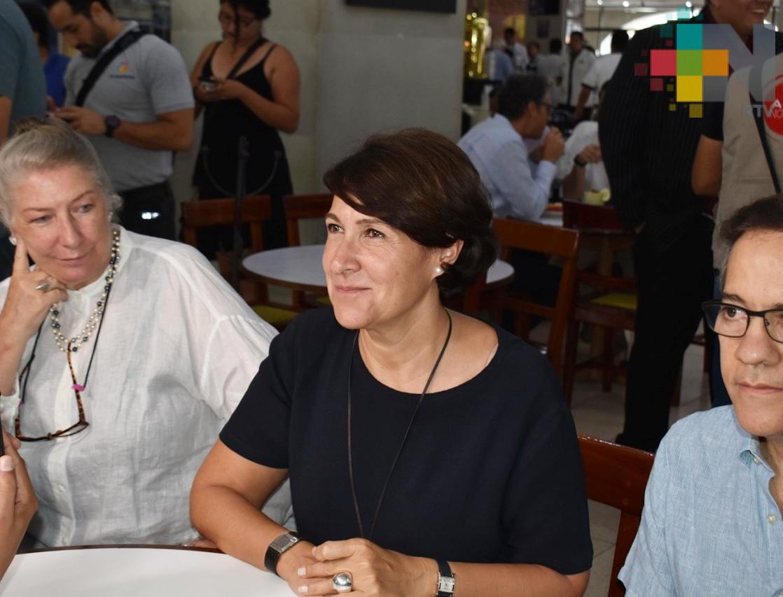 Destaca Embajada de Francia oportunidades de inversión en Veracruz