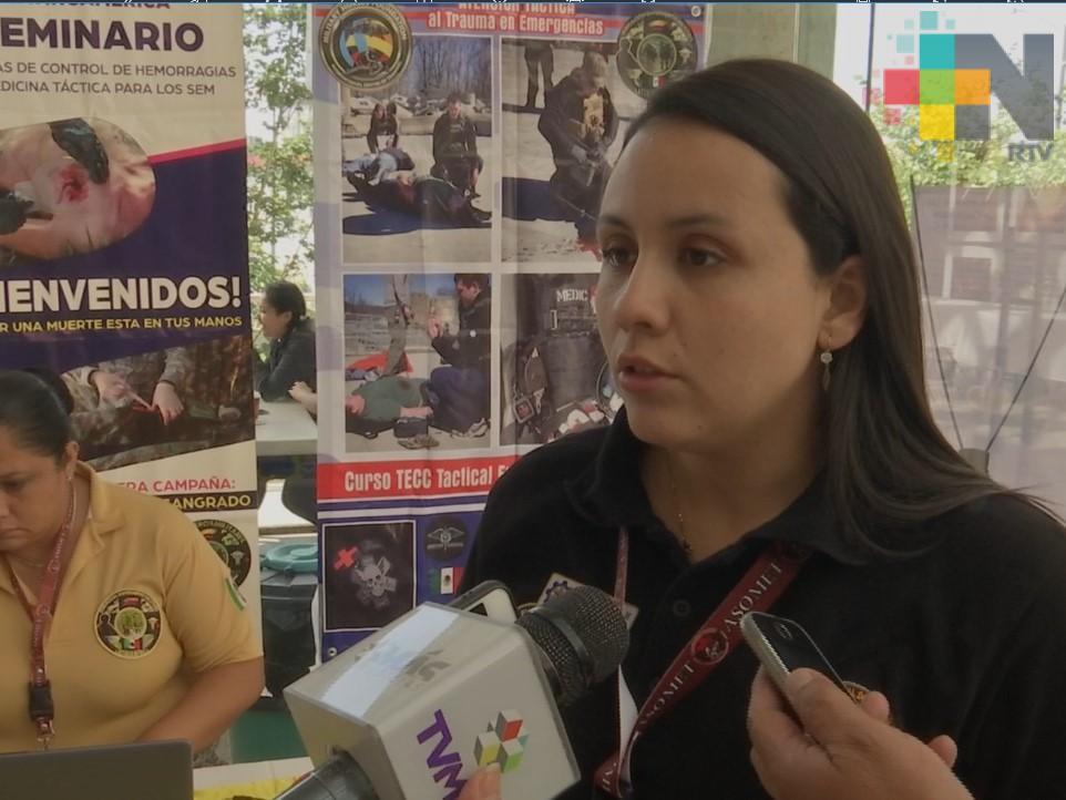 Asociación colombiana brinda capacitación para atender heridas de alto impacto