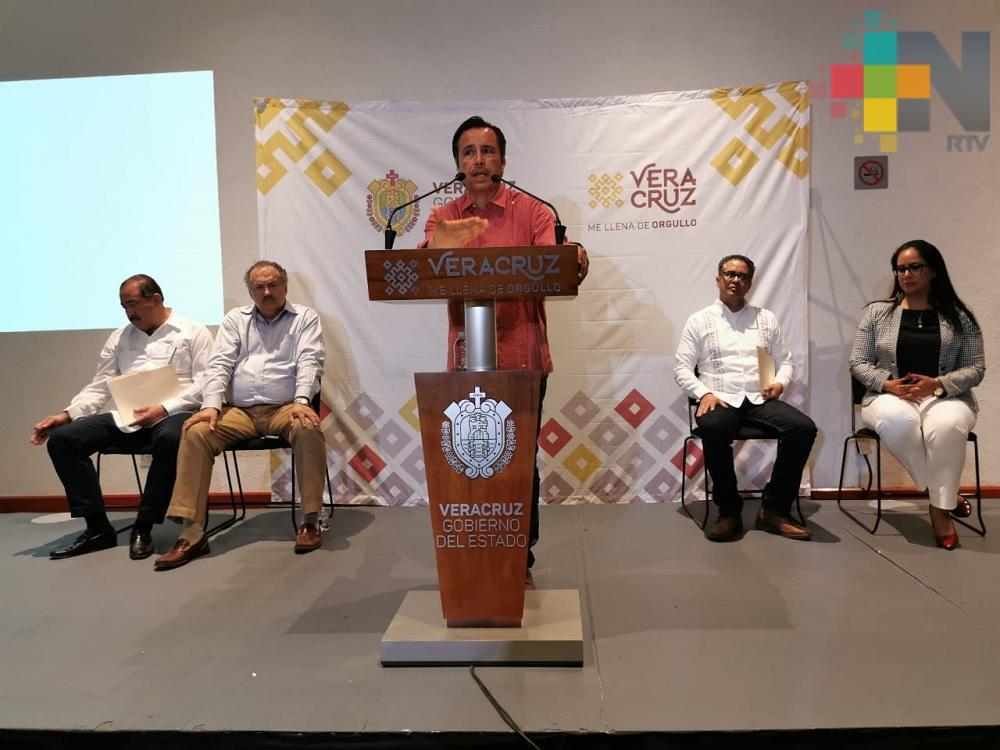 En Veracruz, incidencia delictiva disminuyó considerablemente: CGJ