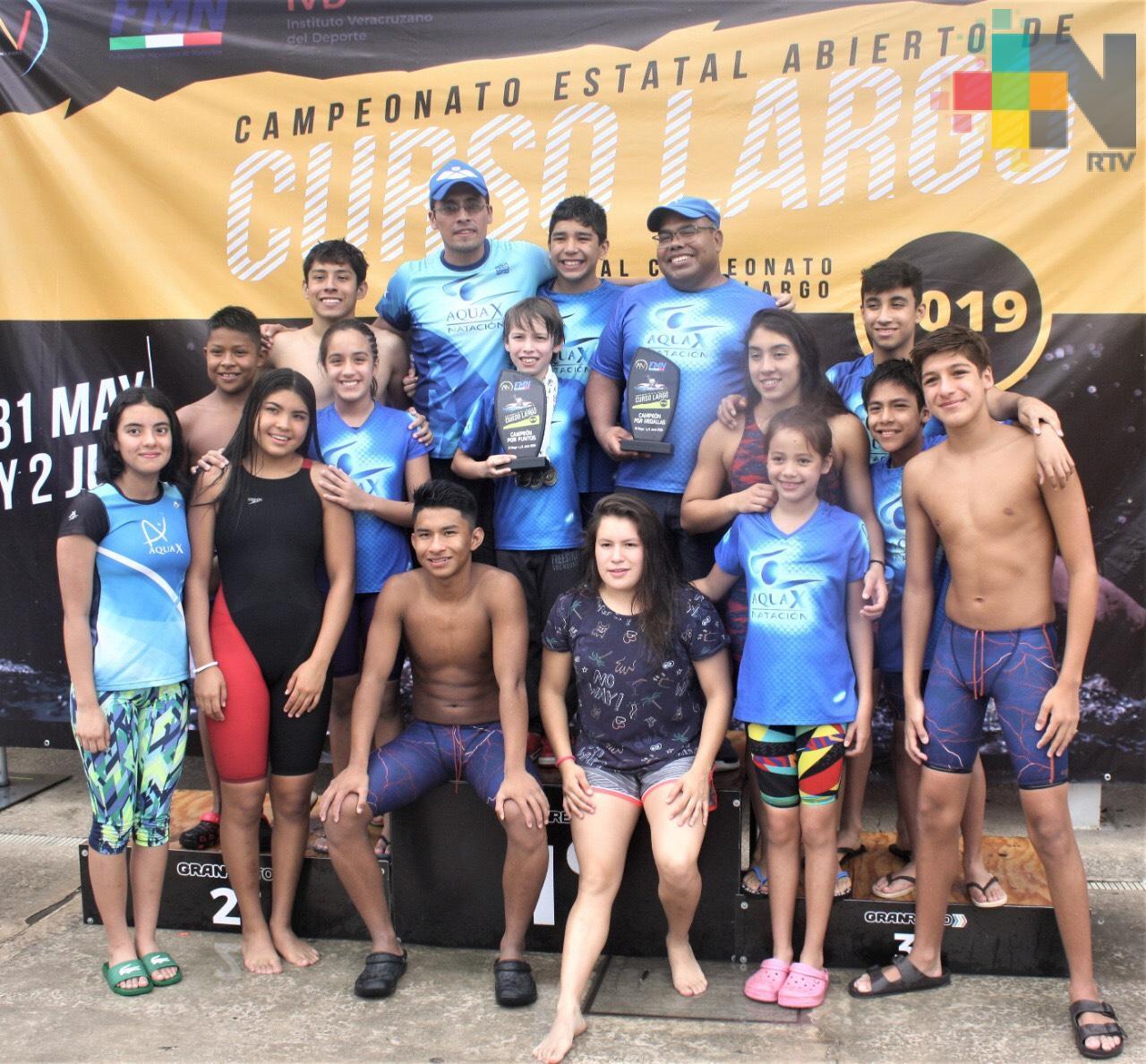 Conquista Club Aquax, Campeonato Estatal Curso Largo 2019