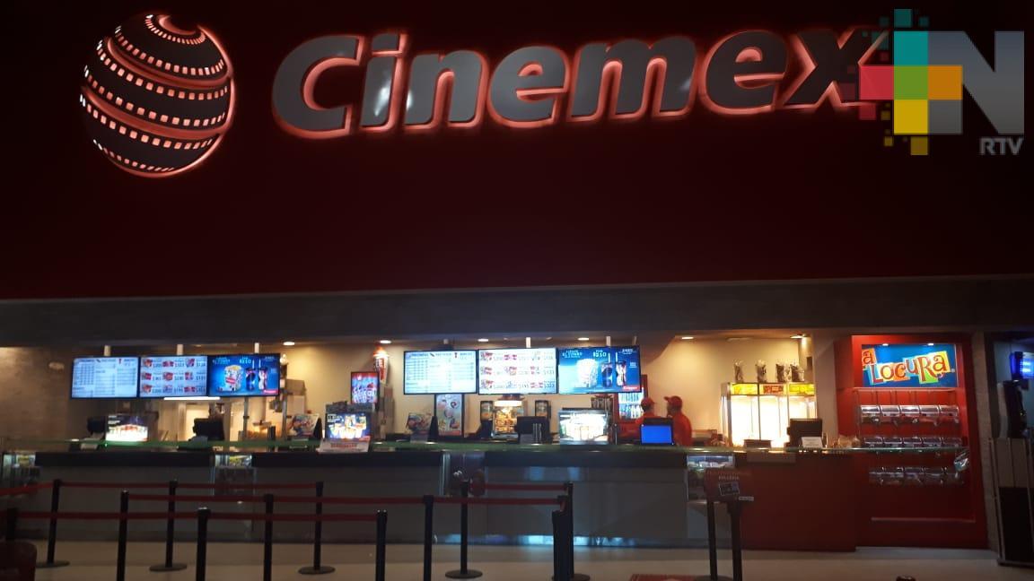 Cinemex cerró sus puertas de manera temporal en zona conurbada Veracruz-Boca del Río