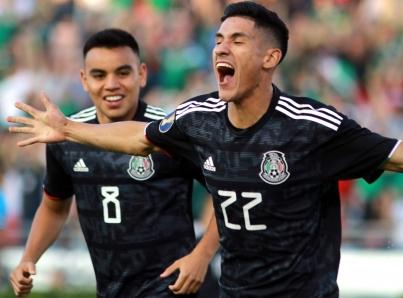 Antuna mete tres goles y México apabulla 7-0 a Cuba en Copa Oro