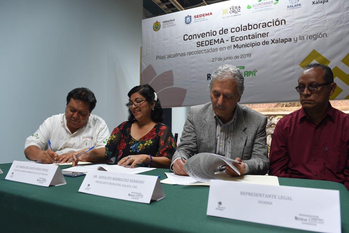 Econtainer y Sedema firman convenio para el tratamiento adecuado de pilas