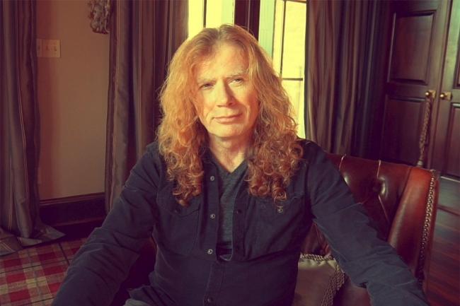Dave Mustaine, vocalista de Megadeth, padece cáncer de garganta