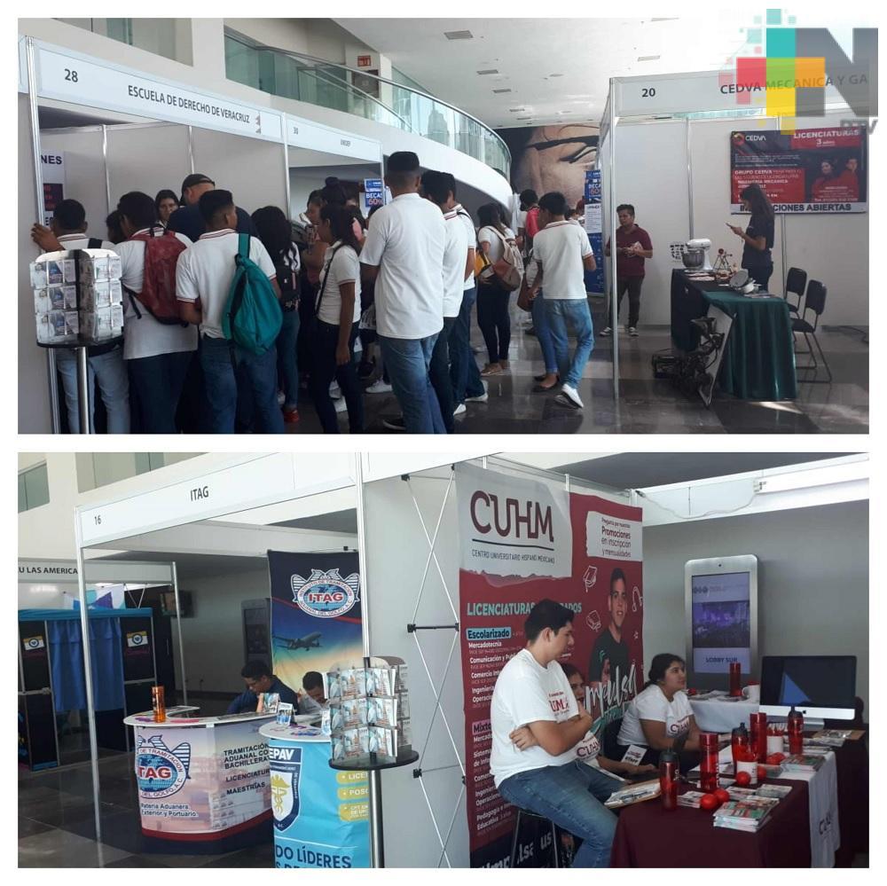 """En Boca del Río inauguran """"Expo Feria Universitaria"""""""
