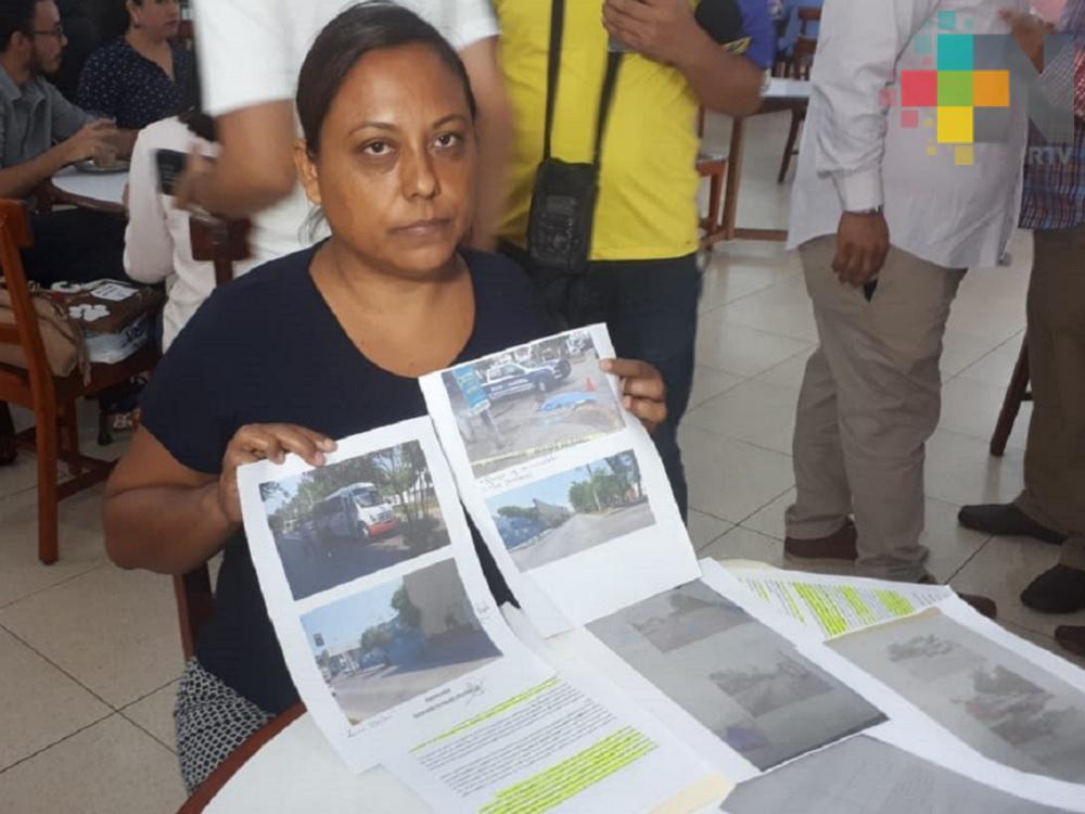 Pide apoyo a las autoridades para detener a chofer que provocó la muerte de su mamá