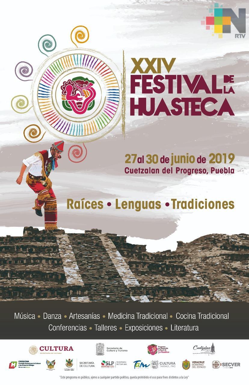 Participará Veracruz en el XXIV Festival de la Huasteca