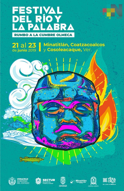 Anuncia SECTUR Festival del Río y la Palabra en tres sedes