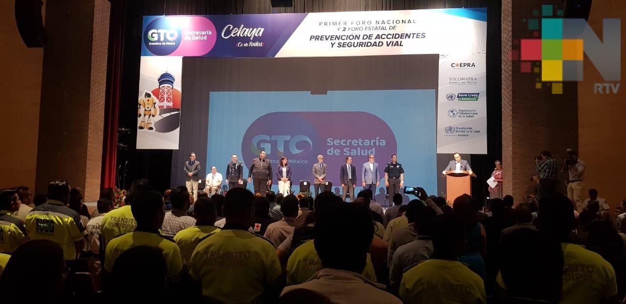 Participa Tránsito del Estado en Primer Foro Nacional de Prevención de Accidentes y Seguridad Vial