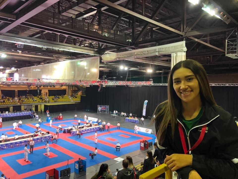 Cinthia de la Rue motivada por su debut en Juegos Panamericanos
