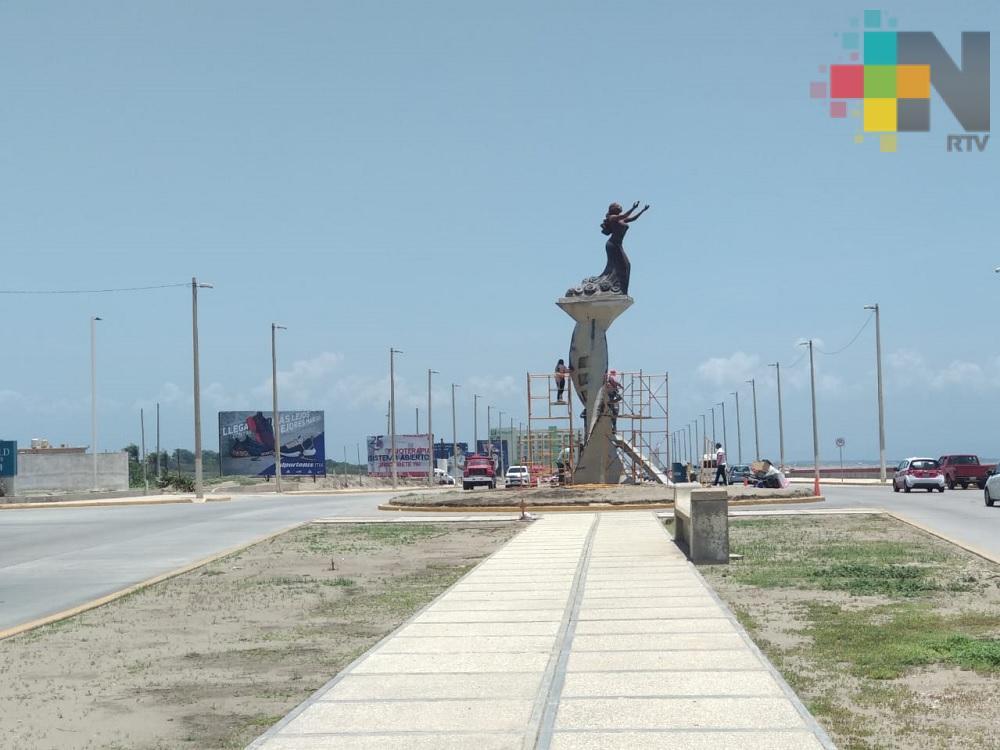Se mantiene número de visitantes en malecón costero de Coatzacoalcos