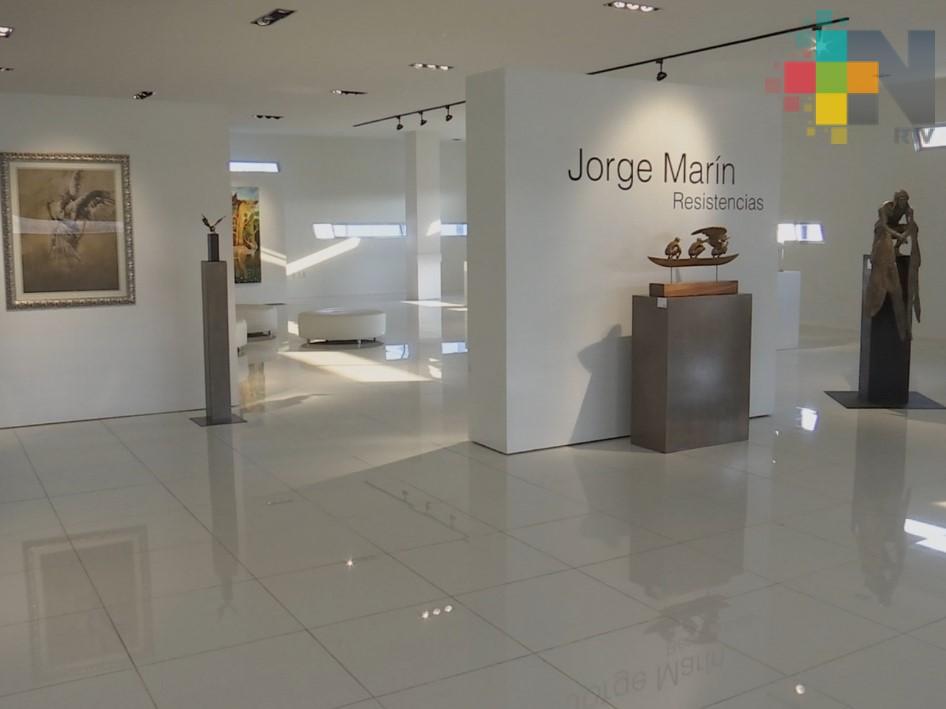 Exponen obra del escultor Jorge Marín en Galería Domínguez y Buis