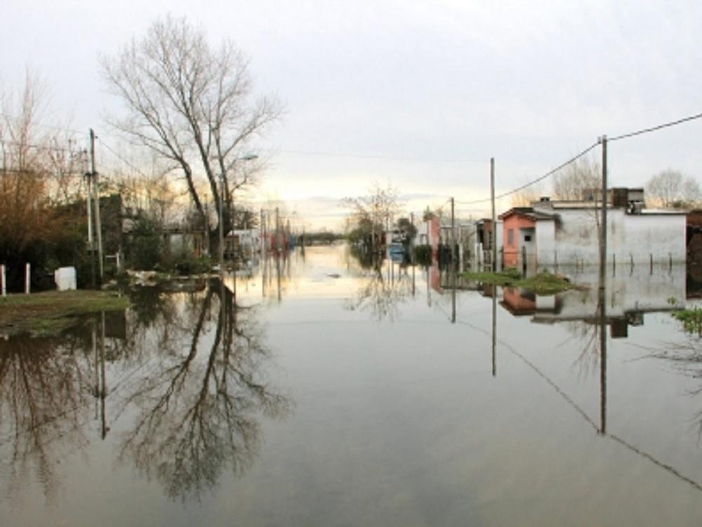 Más de siete mil desplazados dejan las fuertes lluvias en Uruguay