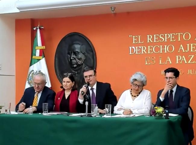 México confía en llegar a un acuerdo con EU en aranceles: Ebrard
