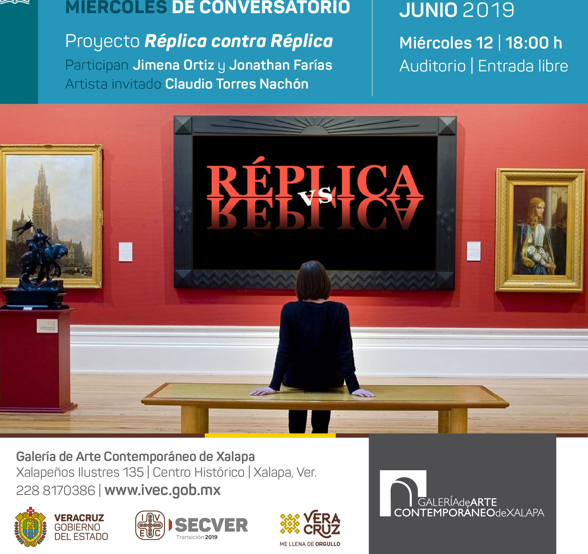 Miércoles de conversatorio en Casa de la Cultura Coatepec y GACX