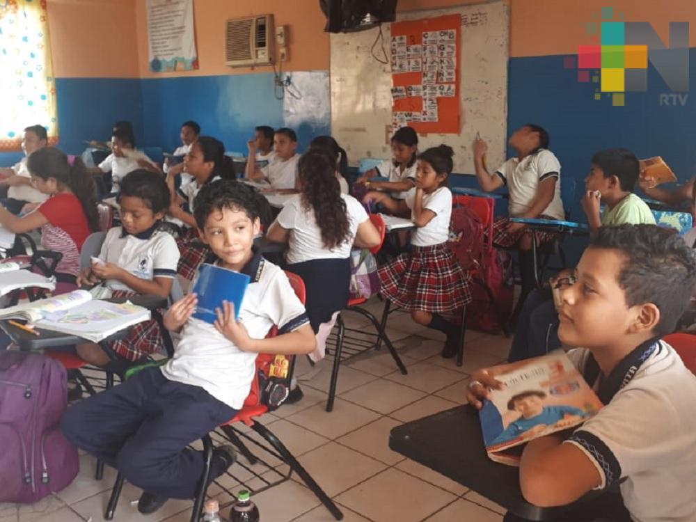 Modifican horario en primaria de Veracruz por falta de energía eléctrica