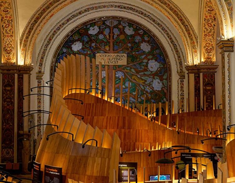 Por su diseño interior, otorgan a Museo de las Constituciones de la UNAM premio Red Dot Award