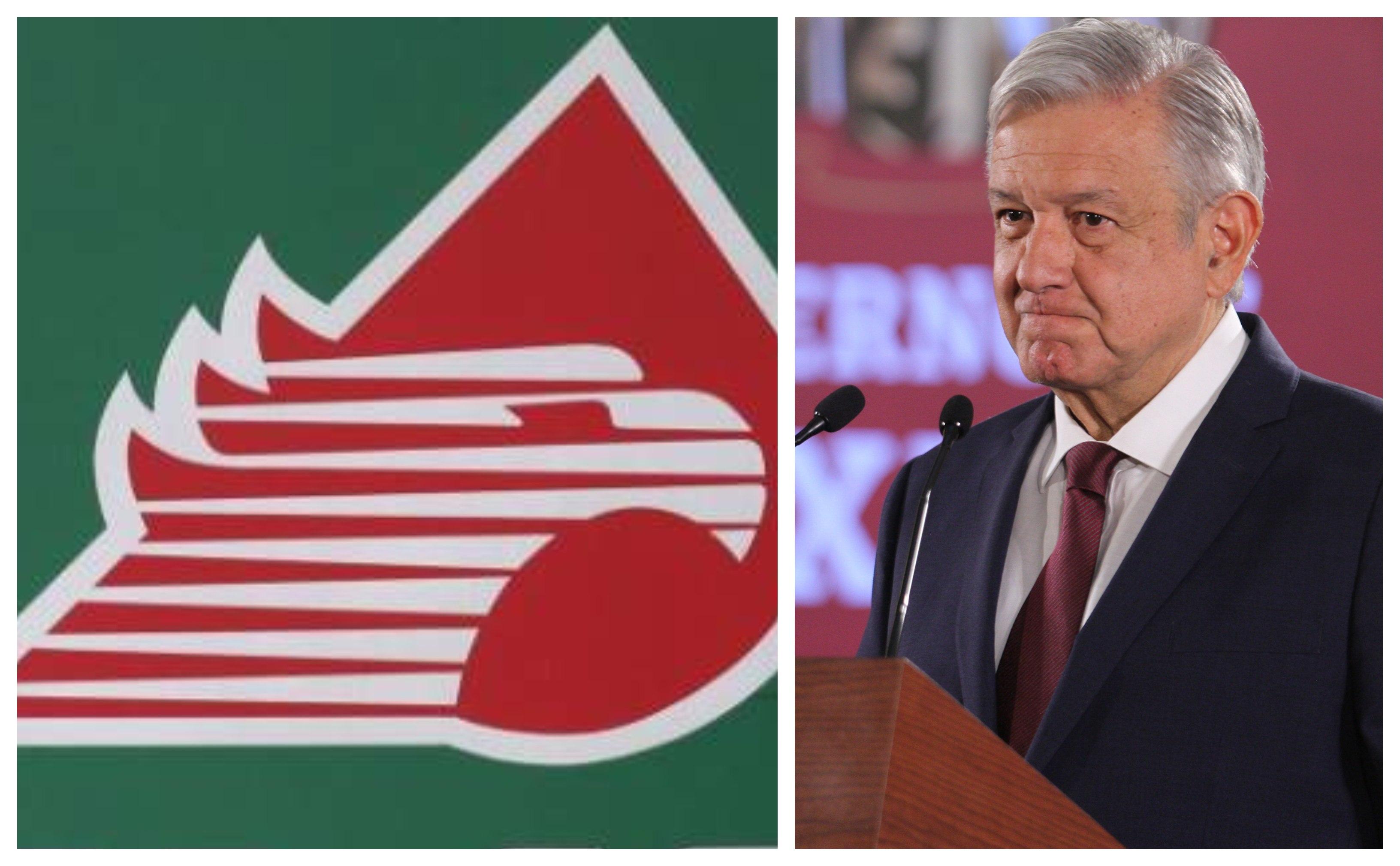 """Confirma López Obrador """"limpia"""" en Pemex Internacional"""