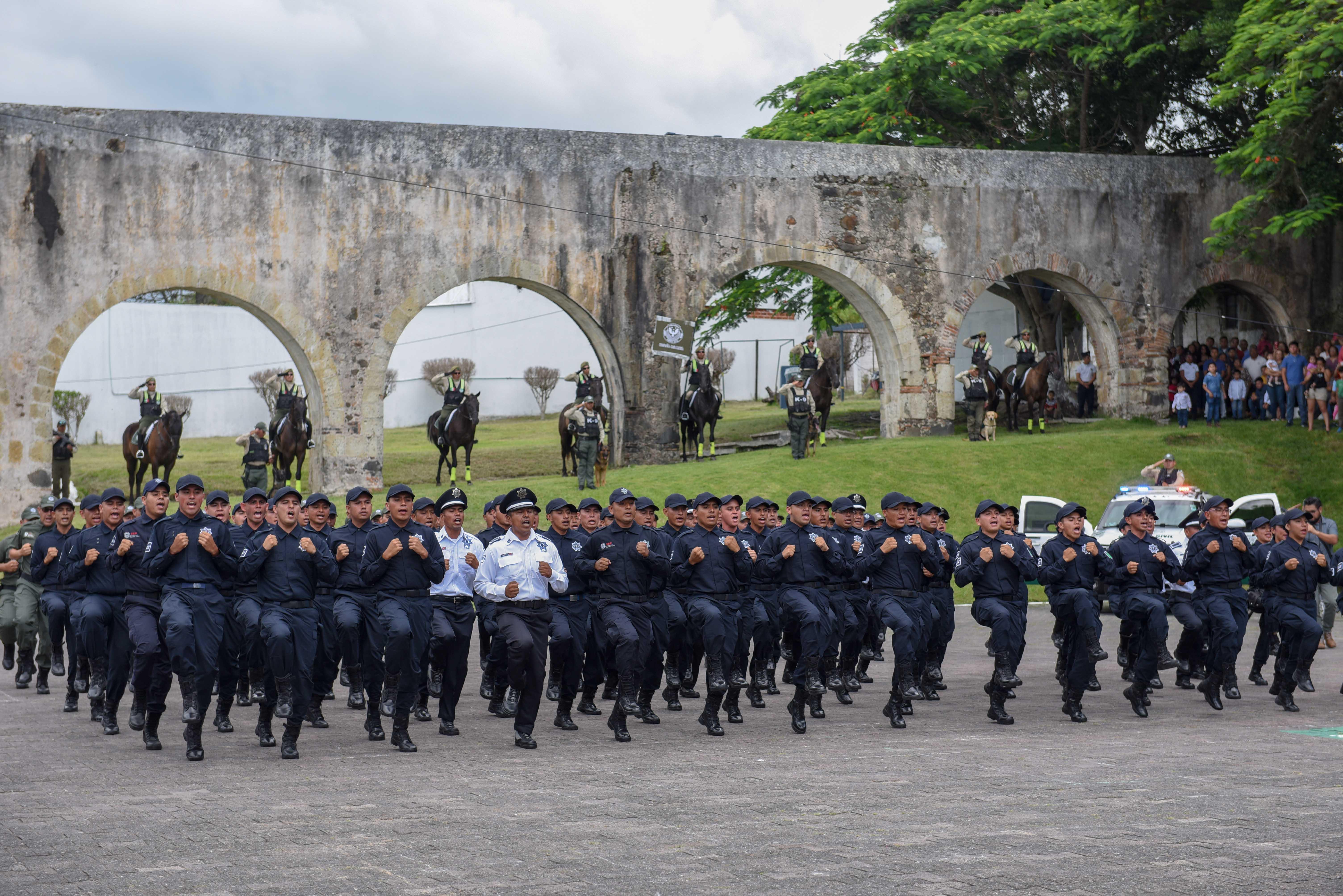 Avanza conformación de la Policía de Proximidad de Xalapa