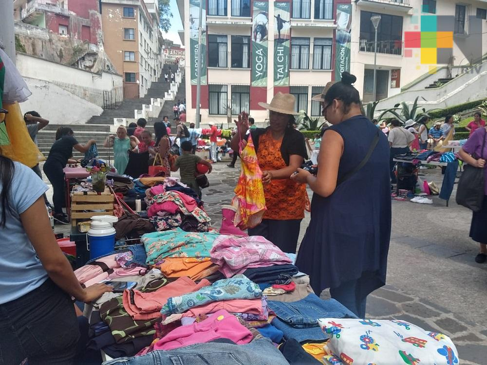 Realizan Cuarto Festival de Trueques Xalapa