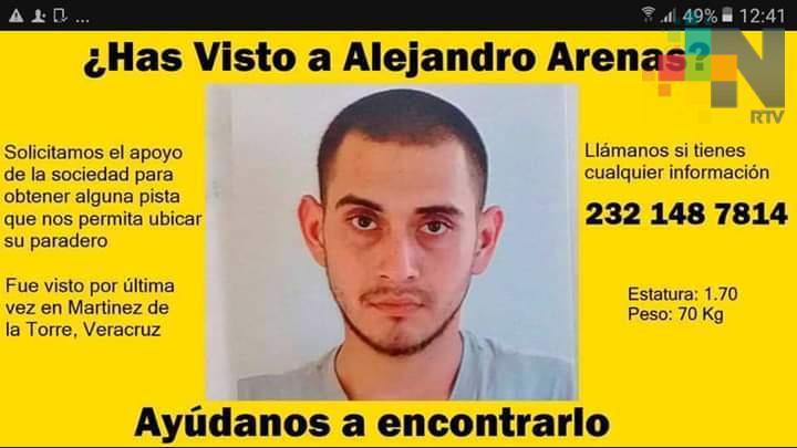 ¿Has visto a Alejandro Arenas?
