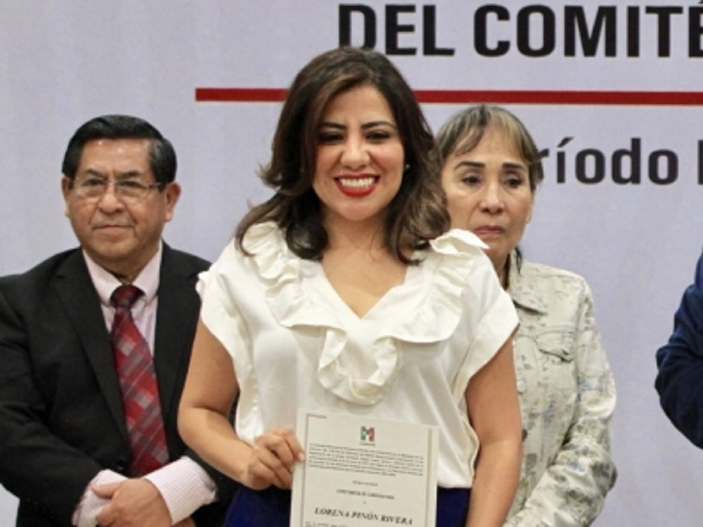 Revocan candidatura de Lorena Piñón para la dirigencia del PRI