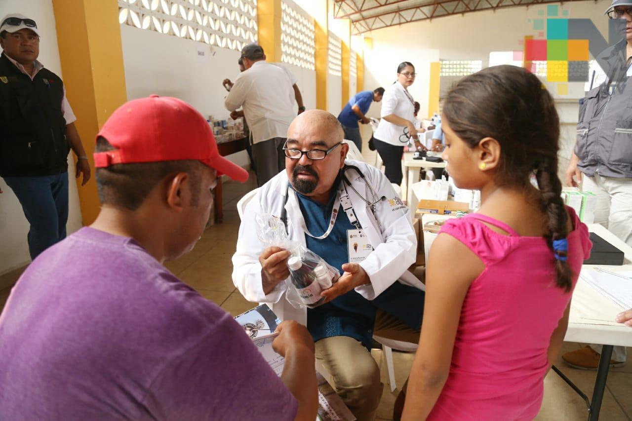 Beneficia SS a más de 6 mil veracruzanos con Jornada de Atención Médica