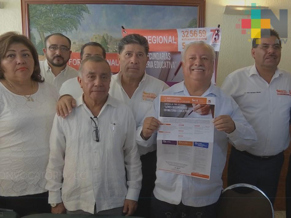 SNTE convoca a la sociedad a participar en la transformación del sistema educativo en México