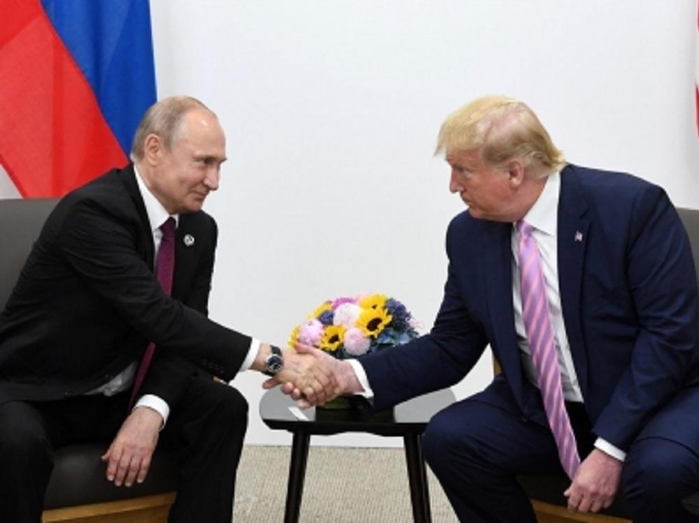 Trump pide a Putin que no interfiera en las elecciones de 2020 en EUA