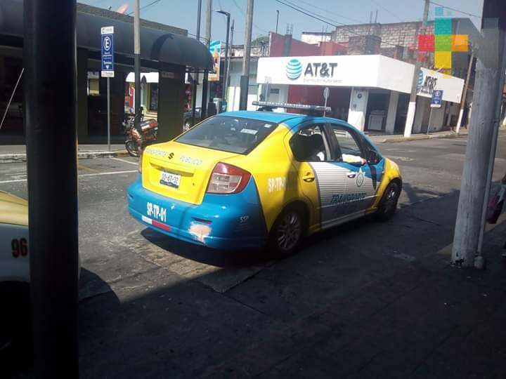Realiza Transporte Público operativos en Córdoba