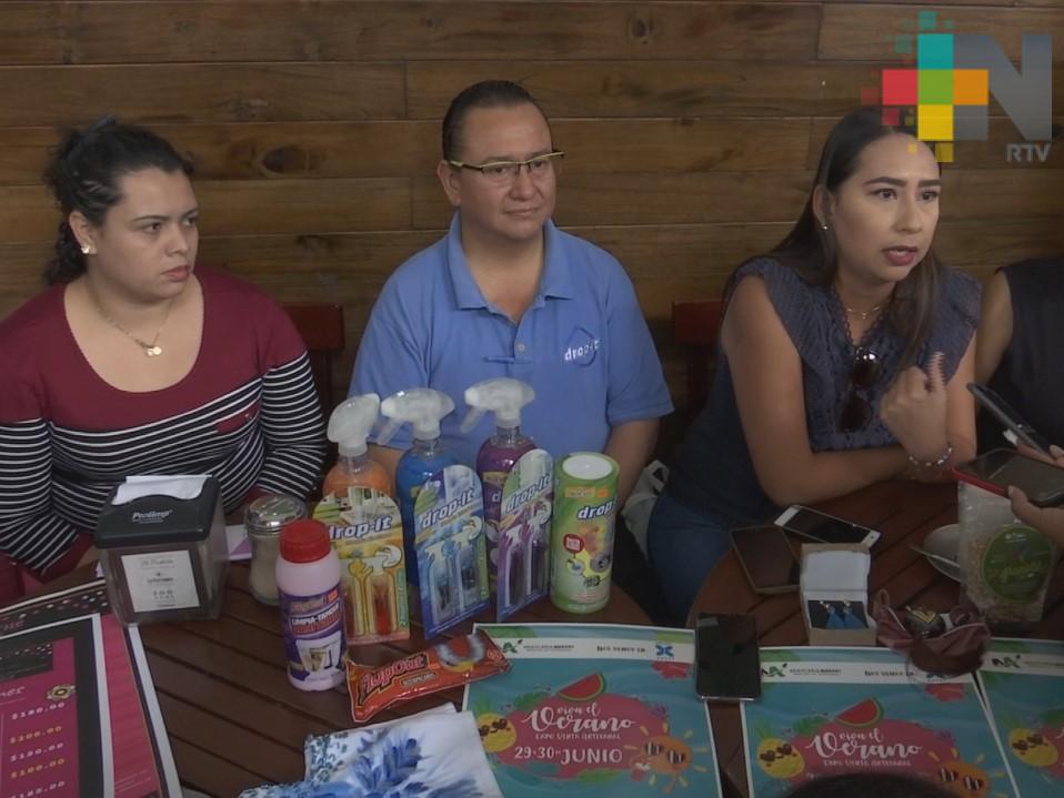 Invitan a expo-venta Viva el Verano en plaza Xanat