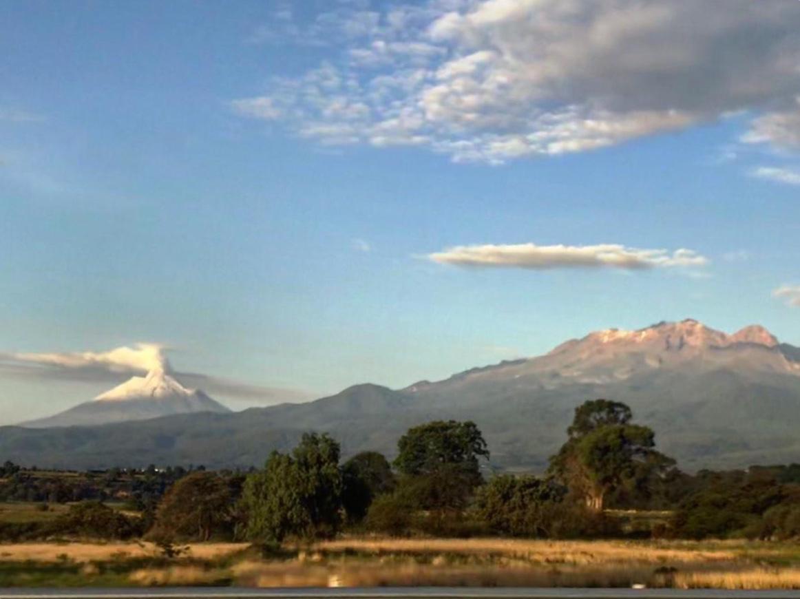 Cofre de Perote  y Pico de Orizaba