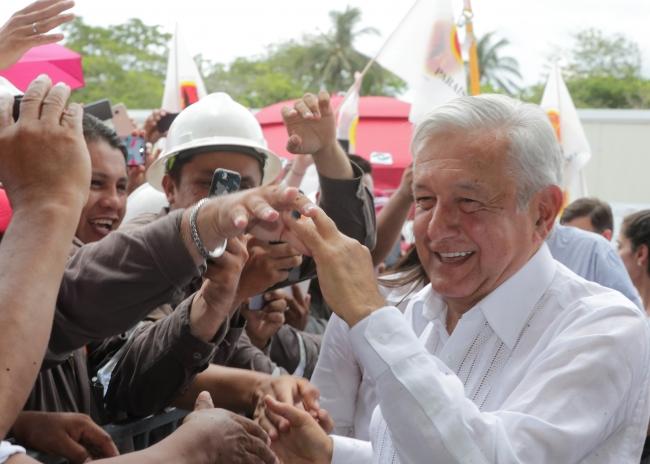 Juremos que nada ni nadie separe nuestra bonita amistad, pide López Obrador a EUA