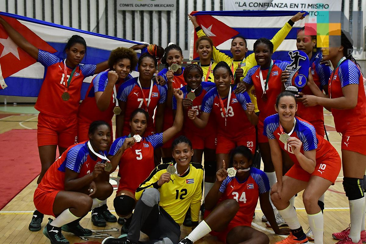 Cuba, Campeón del Norca de Handball  Femenil