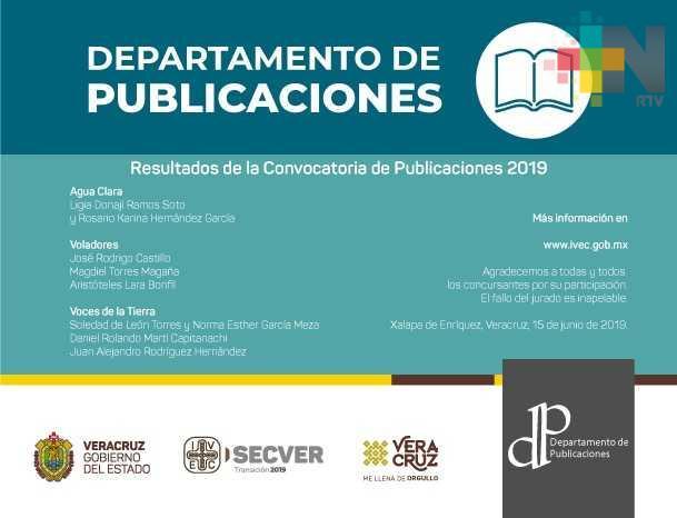 Publicará IVEC seis nuevos títulos este 2019