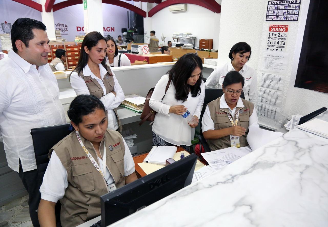 Modernizarán el Registro Público de la Propiedad para un mejor servicio a los veracruzanos