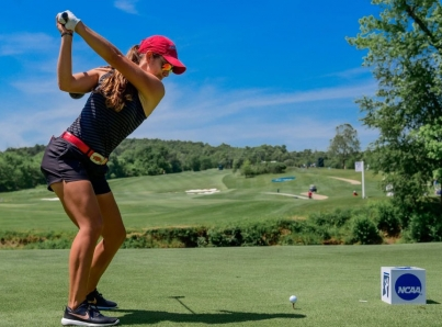 Mexicana Fassi termina en lugar 12 en US Open de Golf, en semana soñada