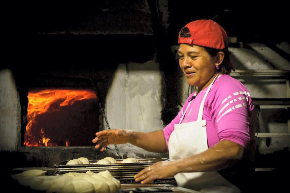 Pan de leña en Xalapa