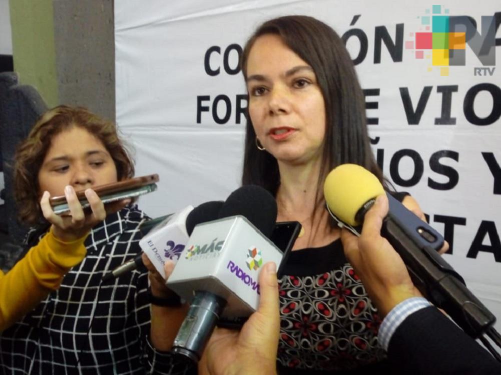 SIPINNA tiene registrados 100 casos de maltrato infantil en Veracruz