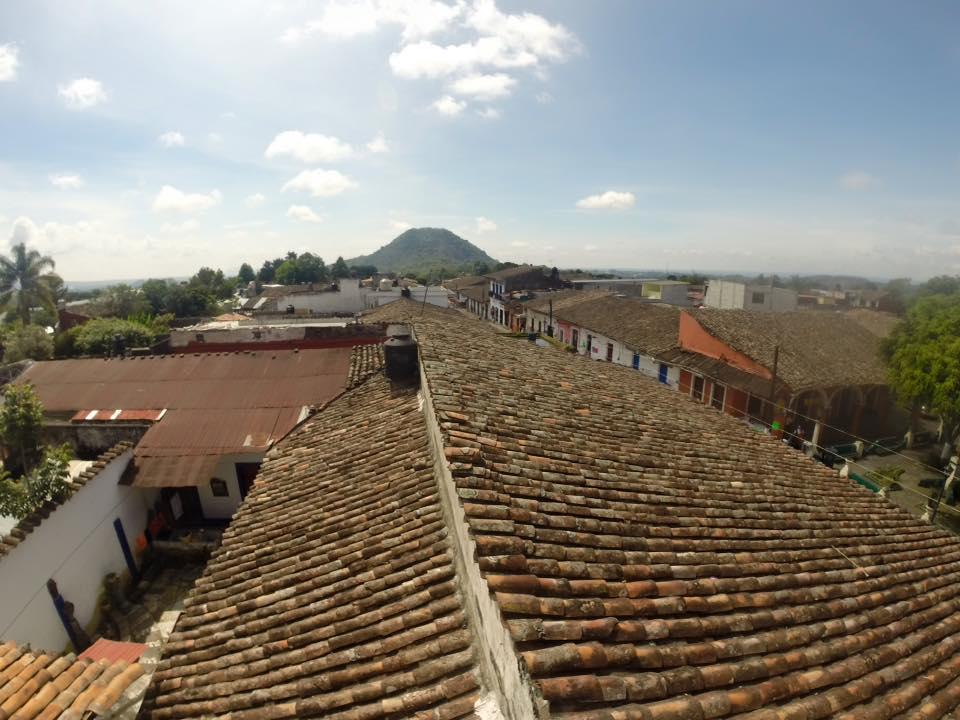Tejado en Xico