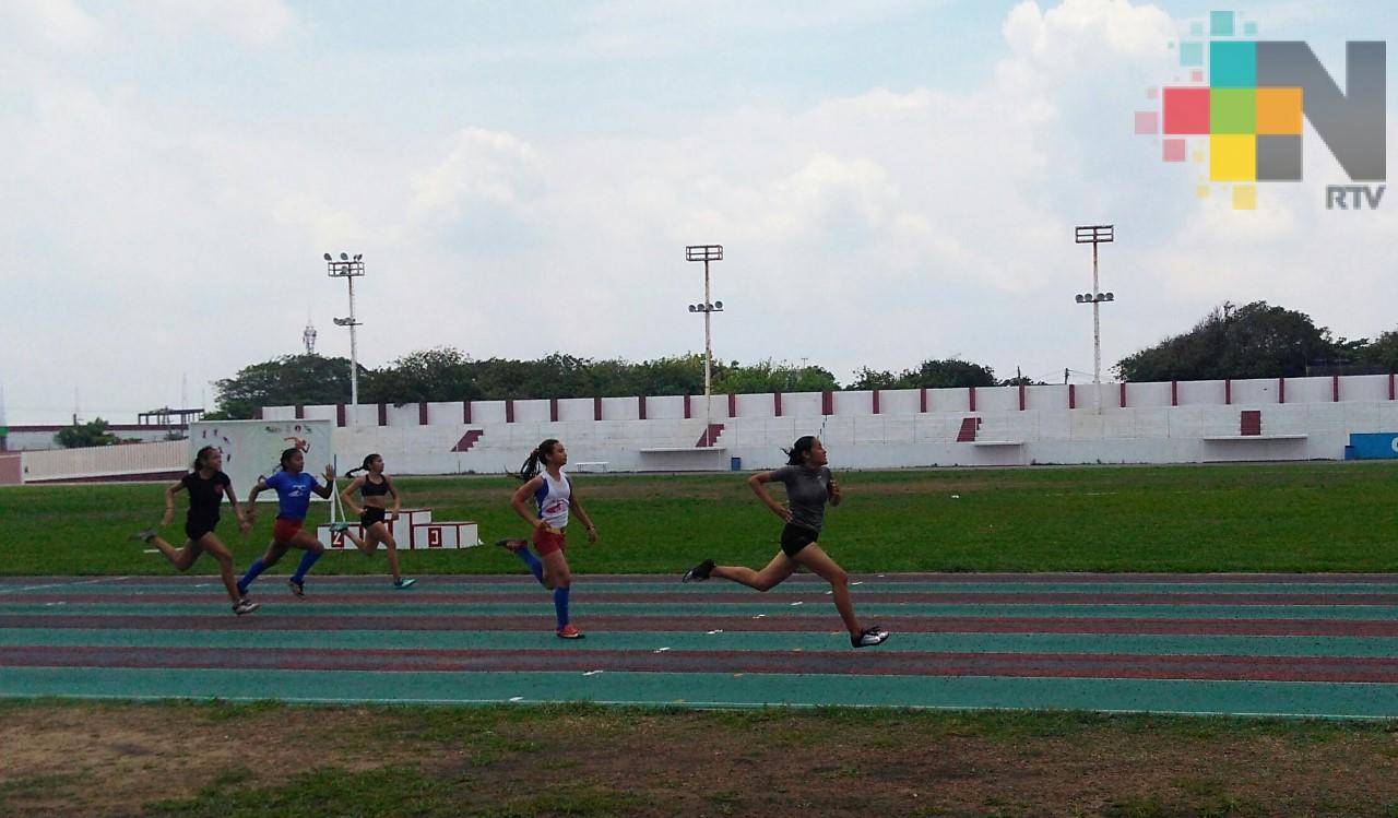 Andrea Ramos ganó 100 y 200 metros de la Liga Quetzalcóatl
