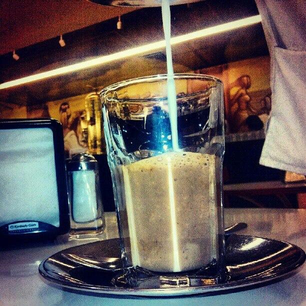 Café lechero, Veracruz
