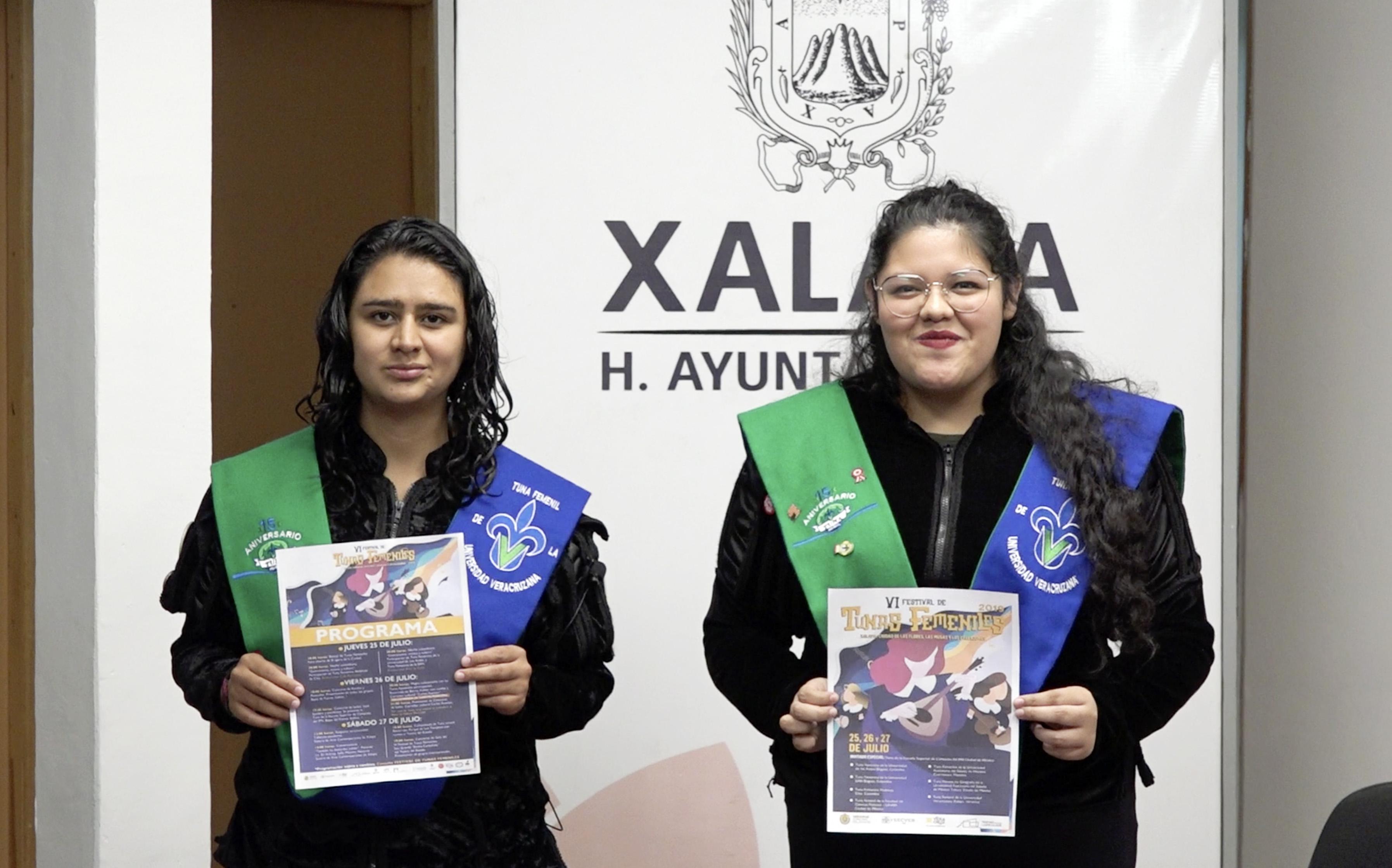 Xalapa, sede del VI Festival de Tunas Femeniles