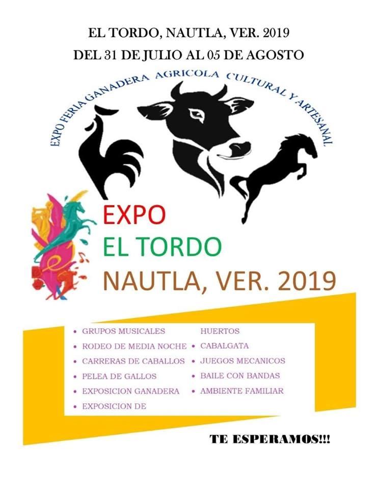 Invitan a Exposición Ganadera y Feria de la Salud en El Tordo, Nautla