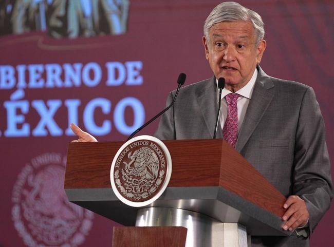Rechaza López Obrador subejercicio del gasto en primer semestre del año