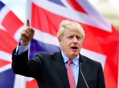 """Boris Johnson promete """"edad de oro» para Reino Unido y Brexit"""
