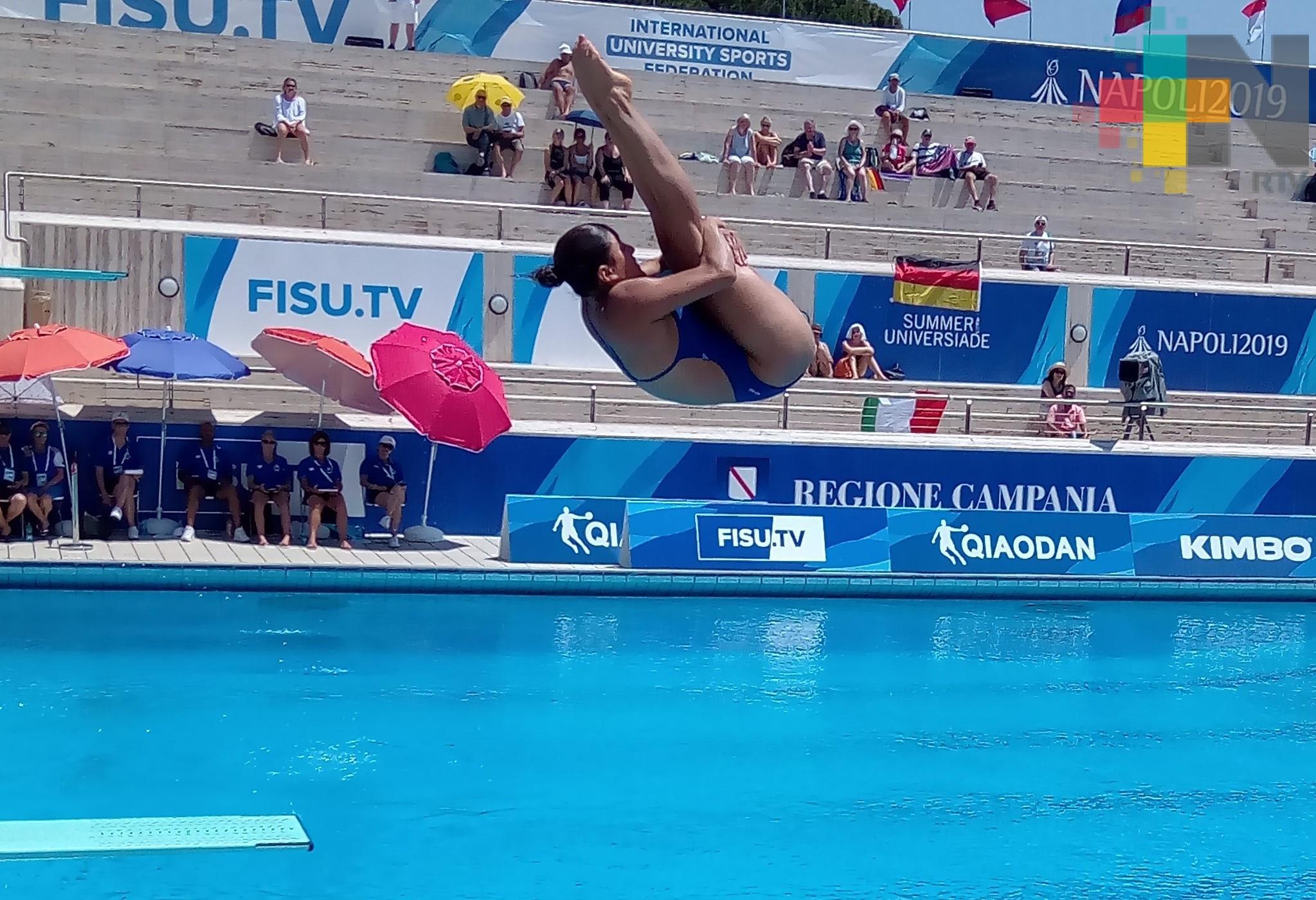 Dolores Hernández avanzó a semifinal de trampolín de Universiada Mundial